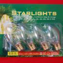 4 Reservelampjes voor Starlights