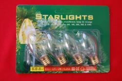 4 Reservelampjes Voor Starlights Starlights Fitting Lamp