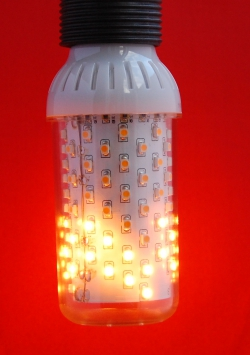 Vuurlamp E27 helder fitting boven