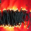 LED snoer 10m. lang 100 lamps kl. WARM WIT