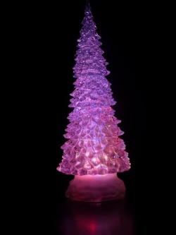 LED crystal glitter tree kleur MULTI COLOUR (RGB)