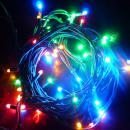 LED Light Links 7,5 meter 50 lamps  MULTI COLOUR