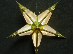 Origami ster 60x60 cm. kleur GOUD