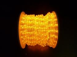 LED Lichtslang 40 meter kleur GEEL