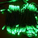 LED snoer 10 m. lang 100 lamps kleur GROEN