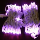 LED snoer 10 m. lang 100 lamps kleur ROZE