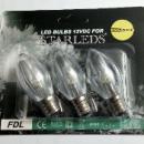 3 Reservelampjes voor Starleds