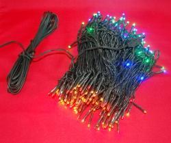 20 METER lichtsnoer met 200 MULTI COLOUR LED