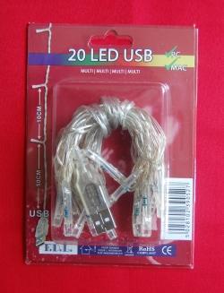 USB LED verlichting kleur MULTI COLOUR
