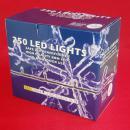25 METER lichtsnoer met 250 WITTE LED