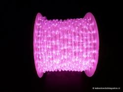 LED Lichtslang 40 meter kleur ROZE