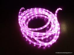 LED lichtslang 5 meter kleur roze