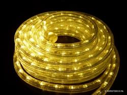 5 mtr.LED lichtslang complete set KLEUR WARM WHITE