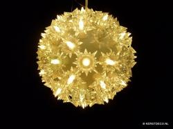 LED Flower Ball  KLEUR WARM WIT